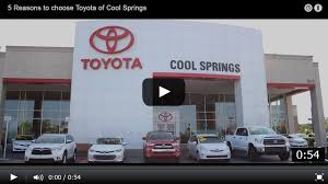 lexus warranty work at toyota dealer toyota of cool springs franklin tn