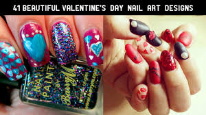 41 beautiful valentine u0027s day nail art designs 2017 the glamour lady