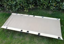 Folding Camp Bed Vintage Hounsfield Croydon Patent Safari Camp Folding Camp Bed
