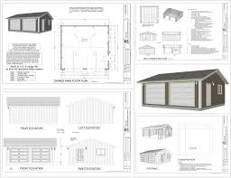 Apartment Over Garage Plans by 3 Car Garage Building Plans Free