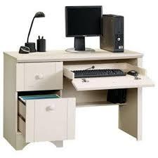 sauder antique white computer desk decorative desk decoration