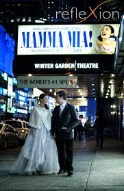 wedding photo shooting in new york reflexion