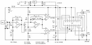 pir motion detector control circuit pir 325 electronics projects