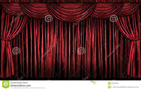 Curtains On A Stage Red Stage Curtains Stock Images Image 22720494