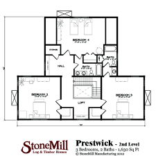 Timber Home Floor Plans by Prestwick Stonemill Log U0026 Timber Homes