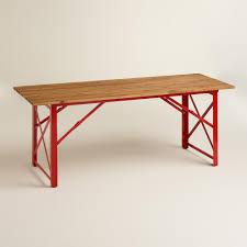 red beer garden dining table world market