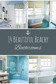 Easy Bathroom Updates by Beach Themed Decor Beach Themed Home Decor Beachy Bathrooms Diy