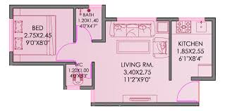 shiv shakti apartment by vakratund developers 1 2 bhk residential