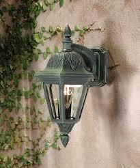verde green outdoor wall light floral outdoor top mount wall light