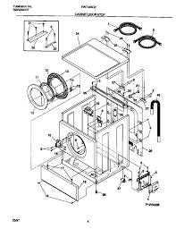 frigidaire washer parts at frigidaire affinity dryer wiring