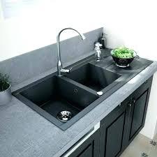 evier cuisine noir 1 bac evier en granit noir description evier de cuisine en granit noir