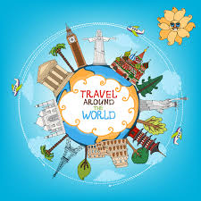 travel the world images World travelling elements creative vector set 05 welovesolo jpg
