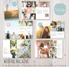 wedding magazine template wedding photography magazine 22 page template when i get the