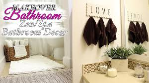 spa bathroom decor ideas zen bathroom makeover youtube