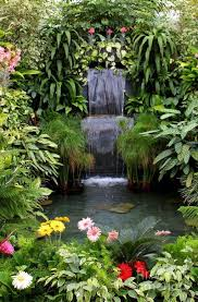 Waterfall Ideas For Backyard Design Your Dream Home With Relaxing Garden And Backyard