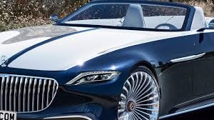 luxury mercedes maybach vision mercedes maybach 6 cabriolet production rendering motor1