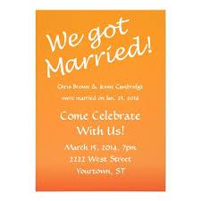 wedding invitation wording for already married reception invitation wording already married 6 awesome