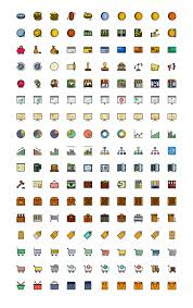 170 retro business icons for sketch freebiesbug