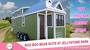 tiny house designs boo boo bear suite at jellystone park tiny house design ideas
