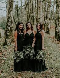 black bridesmaid dresses don t miss these 22 black bridesmaid dresses for your fall and