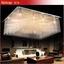 Ceiling Lights For Sitting Room Zx Rectangle Luxury Large Ceiling L Led Creative