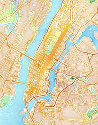 Stamen Maps Stamen Design U0027s Watercolor New York 20x200