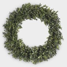 preserved boxwood wreath preserved boxwood wreath world market