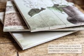 wooden signs decor serene farmhouse wood plank set of 4 russo photography