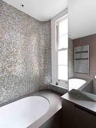 bathroom with mosaic tiles ideas tile backsplash bath design ideas mosaic tile
