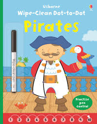 wipe clean dot to dot pirates u201d at usborne children u0027s books