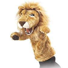 lion puppet stage puppet folkmanis