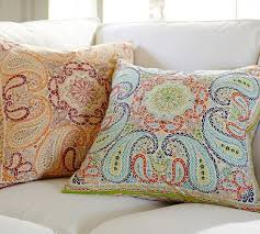 lia paisley pillow cover pottery barn