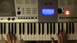 tutorial piano canon canon in d piano chord