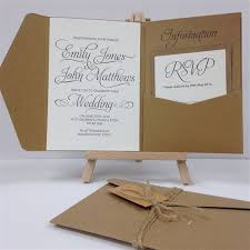 pocket fold twine tag pocketfold invitation package