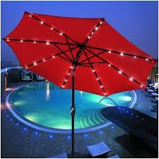 patio umbrella with solar led lights 9 ft patio umbrella with solar lights best of buy 9 ft outdoor
