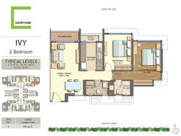 courtyard floor plans the wadhwa courtyard floor plan courtyard pokhran 2 mumbai thane