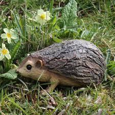 hedgehog garden ornaments for the garden buy animal
