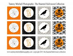 Halloween Stickers Printable by Let U0027s Party New Halloween Printable Party Collections In The The