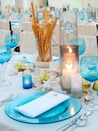 beach theme wedding table decoration ideas themed reception