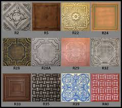 ceiling tiles tin look faux ceiling tiles 20x20 different colors ebay
