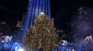 nbc tree lighting 2017 christmas tree gif by nbc find share on giphy