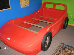 Blue Car Bed Decorate Twin Size Race Car Bed Twin Bed Inspirations