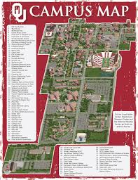 Notre Dame Campus Map A Map Of Ou Campus Notredame