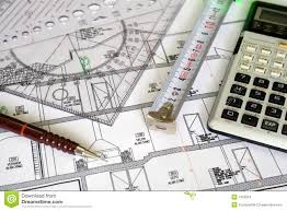 architecture plans architecture plan stock images image 1422054