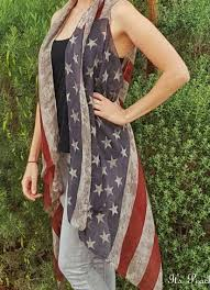American Flag Cardigan Vintage Flag Vest Flags Scarves And Clothes