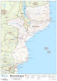 Mozambique Map Mozambique Maps