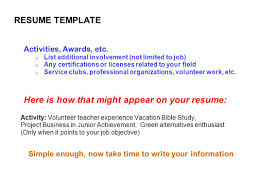 Resume Activity Calvary Chapel South Bay Ppt Download