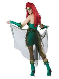 Halloween Poison Ivy Costume Poison Ivy Lethal Beauty Costume 01289 Fancy Dress Ball