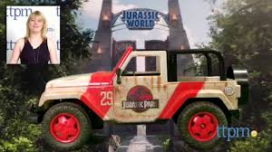 jurassic world jeep jurassic world jeep wrangler r c from jada toys youtube