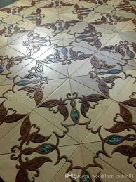 jade inlaid wood floor shellhouse floor jade inlaid wood floor